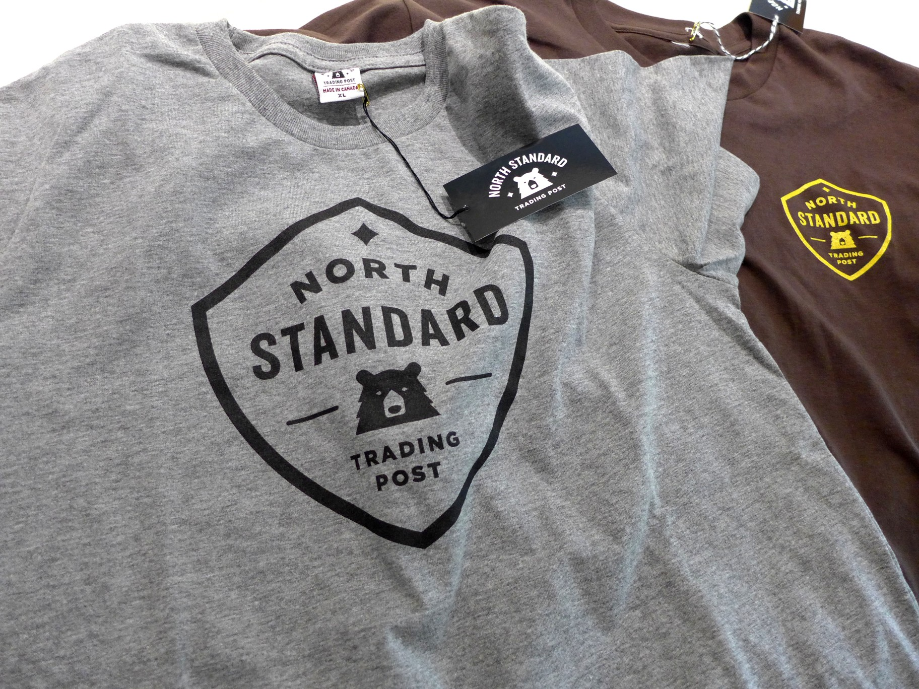 T-shirts : Made in Canada – despite the snow